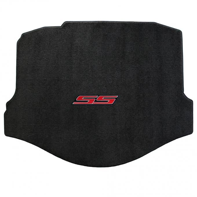 Lloyd Mats 2010-2015 Chevrolet Camaro Camaro 2010-on Coupe Trunk Mat Ebony Ultimat SS Logo 600008