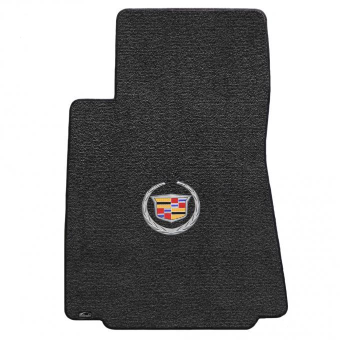 Lloyd Mats 2008-2013 Cadillac CTS Cts 2WD Sedan/wagon 2008-2013 4 Piece Mats Ebony Ultimat Cadillac Logo 600071