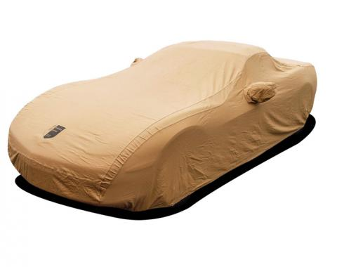 Corvette Car Cover, Premium Flannel, Tan, (Except Z06), 2005-2013