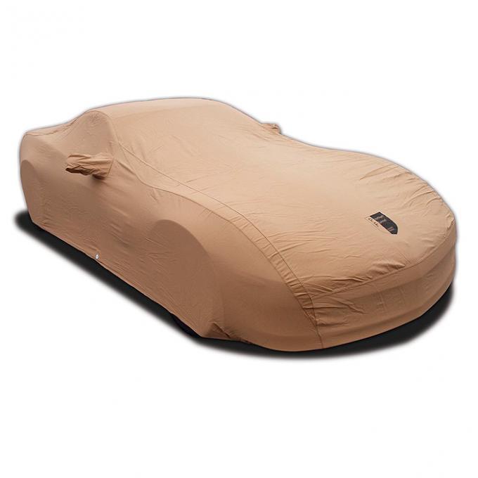 Corvette Car Cover, Premium Flannel, Tan, Z06, 2006-2013