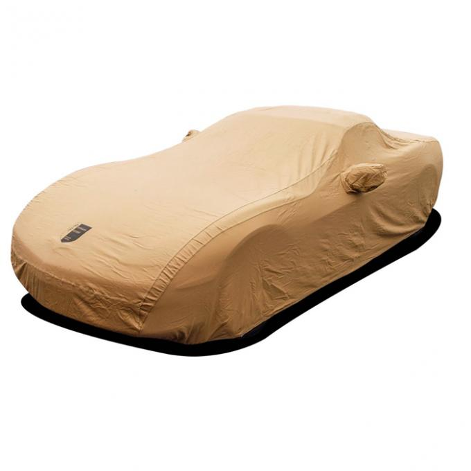 Corvette Car Cover, Premium Flannel, Tan, (Except Z06), 2005-2013