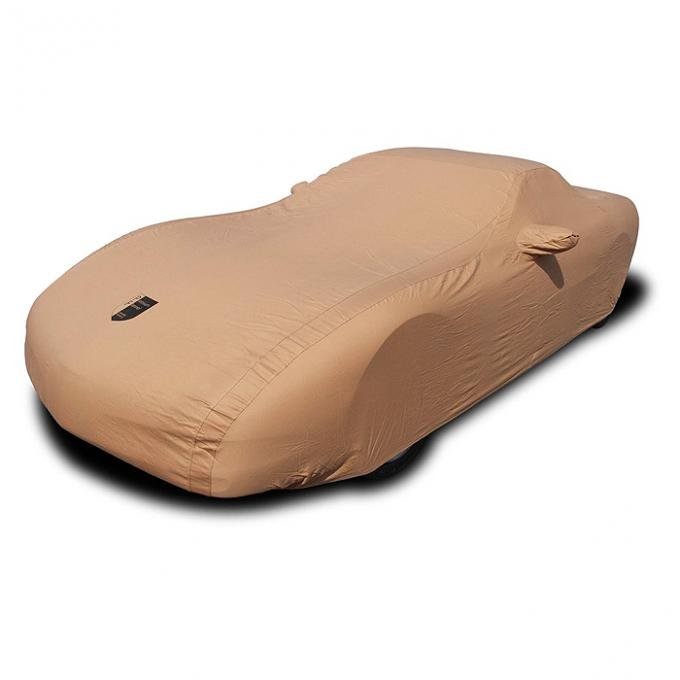 Corvette Car Cover, Premium Flannel, Tan, 1997-2004