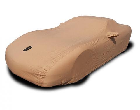 Corvette Car Cover, Premium Flannel, Tan, 1997-2004