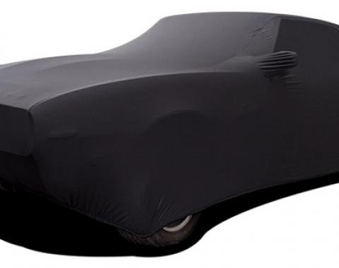 Camaro & Firebird Car Cover, Onyx Satin Indoor, Black, 1967-1969