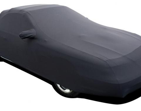 Mustang Car Cover Coupe or Convertible, Onyx Satin Indoor, Black, 1994-1998