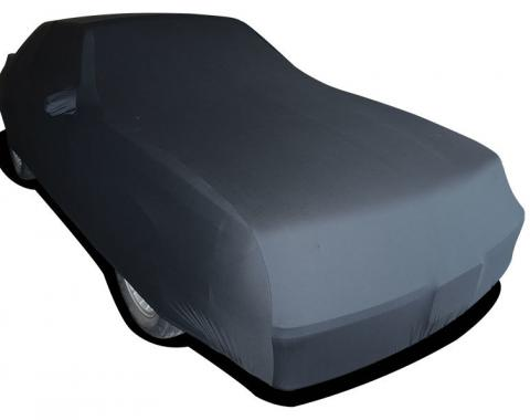 Mustang Car Cover Fastback LX, Onyx Satin Indoor, Black, 1986-1993