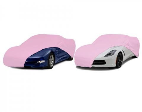 Corvette Semi-Custom Universal Pink Indoor Car Cover, 1953-2017