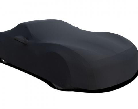 Corvette Car Cover, Onyx Satin Indoor, Black, 2005-2013